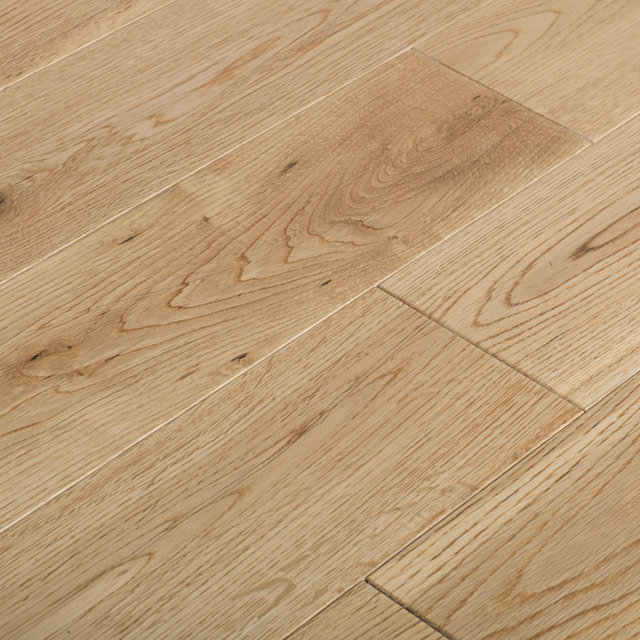 Solid Lacqured Oak Hardwood Flooring 18mmx123mm Thumbnail