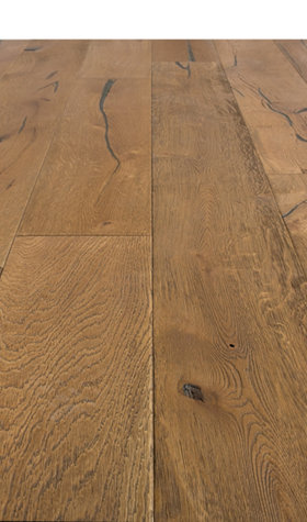 Engineered Oak Light Brown Hardwood Flooring 20/6mm x 190mm x 1900mm