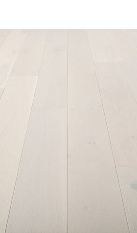 Engineered Polar White Hardwood Flooring