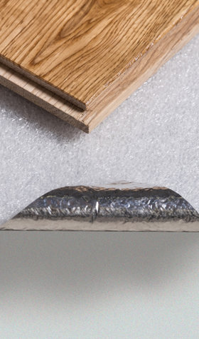 METALISED FOIL UNDERLAY