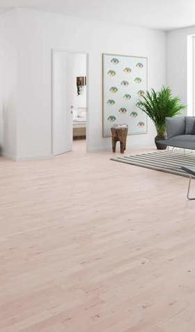 Junckers Solid White Beech 14mm Solid Wood Flooring