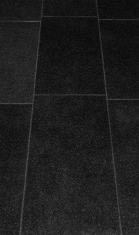 Luxury Vinyl Star Stone Black Tile