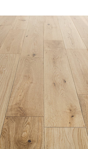 Solid Lacqured Oak Hardwood Flooring 18mmx123mm