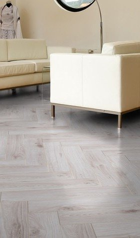 Bordeaux Oak Herringbone Laminate Flooring